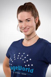 Annette Früh kümmert sich um die Little Stars von StageWorld
