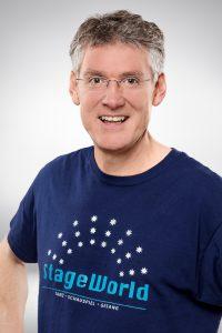 Nigel Greenhalgh, Gründer, Inhaber und Schulleiter von StageWorld